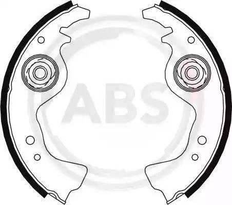 A.B.S. 8004 - Pidurikomplekt, trummelpidurid japanparts.ee