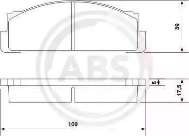A.B.S. 36004 - Piduriklotsi komplekt,ketaspidur japanparts.ee