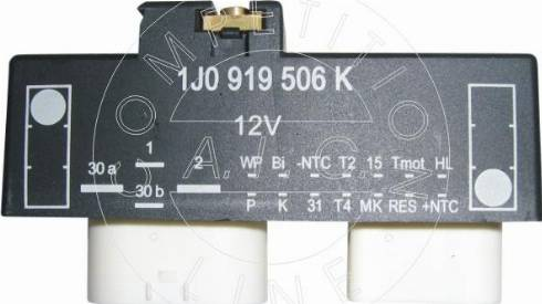 AIC 53105 - Relee,radiaatoriventilaatori jaoks japanparts.ee