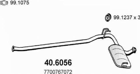 ASSO 40.6056 - Kesksummuti japanparts.ee