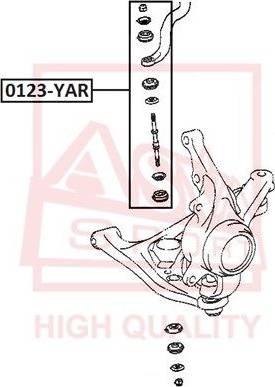 ASVA 0123-YAR - Stabilisaator,Stabilisaator japanparts.ee