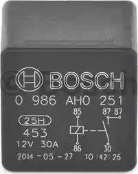 BOSCH 0 986 AH0 251 - Relee, ventilaator japanparts.ee