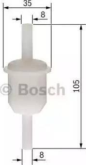 BOSCH 0 450 904 058 - Kütusefilter japanparts.ee