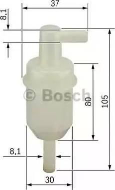 BOSCH 0 450 904 077 - Kütusefilter japanparts.ee