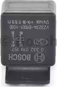 BOSCH 0 332 019 157 - Mitme funktsiooniga relee japanparts.ee