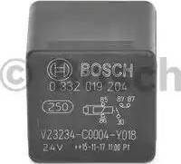 BOSCH 0 332 019 204 - Mitme funktsiooniga relee japanparts.ee