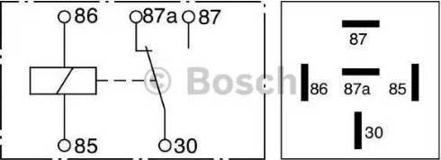 BOSCH 0 332 209 150 - Mitme funktsiooniga relee japanparts.ee