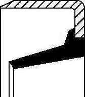 Corteco 01020437B - Võlli rõngastihend,survelaagri võll japanparts.ee