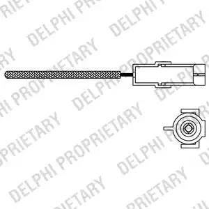 Delphi ES10966-12B1 - Lambda andur japanparts.ee