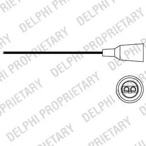 Delphi ES10674-12B1 - Lambda andur japanparts.ee