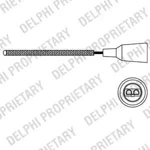 Delphi ES10671-12B1 - Lambda andur japanparts.ee