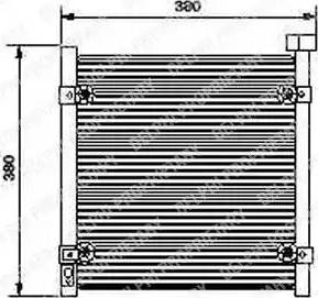 Delphi TSP0225422 - Kondensaator,kliimaseade japanparts.ee