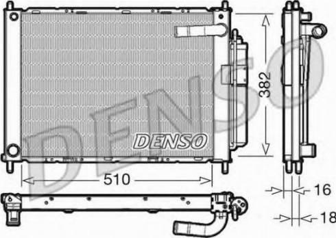 Denso DRM46101 - Jahutimoodul japanparts.ee