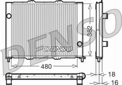 Denso DRM23099 - Jahutimoodul japanparts.ee
