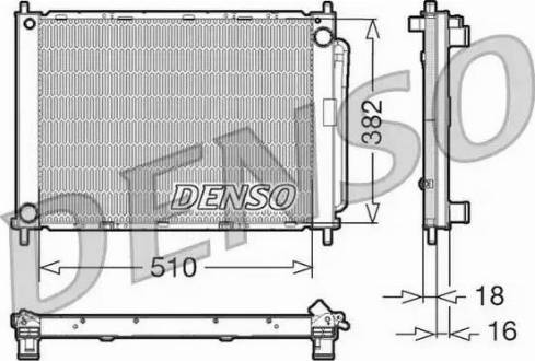 Denso DRM23100 - Jahutimoodul japanparts.ee