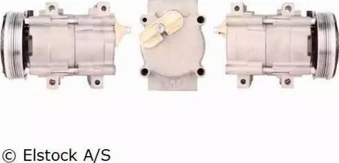 Elstock 51-0072 - Kompressor,kliimaseade japanparts.ee