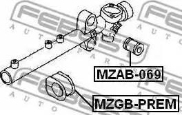 Febest MZGB-PREM - Paigutus,rooliajam japanparts.ee