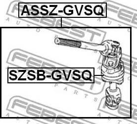 Febest SZSB-GVSQ - Puks,juhtvõll japanparts.ee