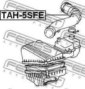 Febest TAH-5SFE - Toruühendus japanparts.ee