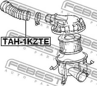 Febest TAH-1KZTE - Toruühendus japanparts.ee