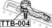 Febest TTB-004 - Remondikomplekt, rooliots japanparts.ee