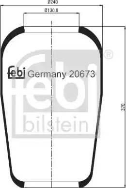 Febi Bilstein 20673 - Lõõts,õhkvedrustus japanparts.ee
