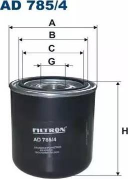 Filtron AD 785/4 - Õhukuivati,Suruõhusüsteem japanparts.ee