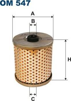 Filtron OM 547 - Filter,tööhüdraulika japanparts.ee