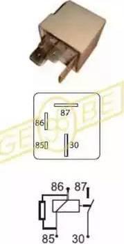 Gebe 9 9133 1 - Relee, Kütusepump japanparts.ee