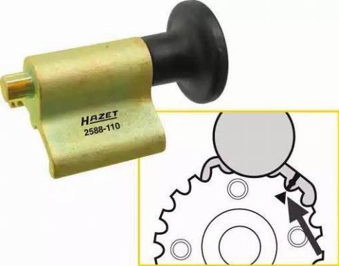 HAZET 2588-110 - Fiksserimise tööriist, väntvõll japanparts.ee
