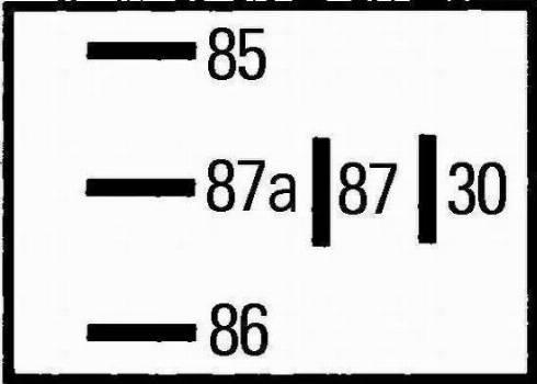 HELLA 4RD 965 453-041 - Relee, kütuse eelsoojendi japanparts.ee