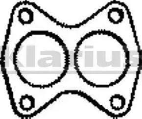 Klarius 410092 - Tihend, heitgaasitoru japanparts.ee