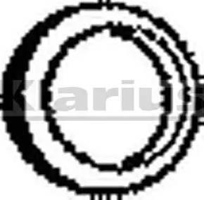 Klarius 410110 - Tihend, heitgaasitoru japanparts.ee