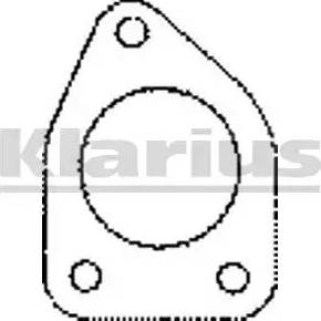 Klarius 410331 - Tihend, heitgaasitoru japanparts.ee