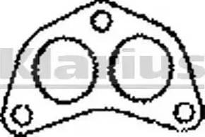 Klarius 410244 - Tihend, heitgaasitoru japanparts.ee