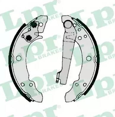 LPR 00140 - Pidurikomplekt, trummelpidurid japanparts.ee