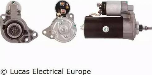 Lucas Electrical LRS00528 - Starter japanparts.ee