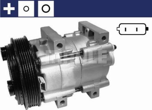 Mahle Original ACP 845 000S - Kompressor,kliimaseade japanparts.ee