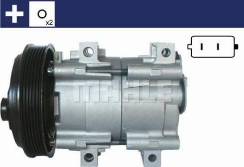 Mahle Original ACP 843 000S - Kompressor,kliimaseade japanparts.ee