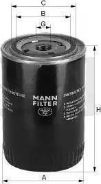 Mann-Filter W 712/4 - Filter,tööhüdraulika japanparts.ee