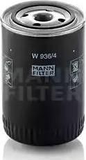 Mann-Filter W 936/4 - Filter,tööhüdraulika japanparts.ee