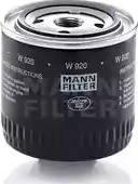 Mann-Filter W 920 - Filter,tööhüdraulika japanparts.ee