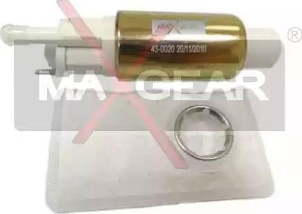 Maxgear 43-0020 - Kütus-etteanne japanparts.ee