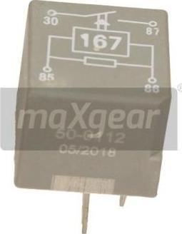 Maxgear 50-0112 - Relee, Kütusepump japanparts.ee