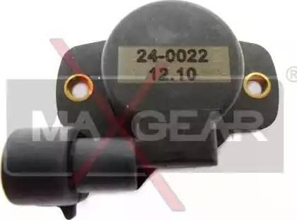 Maxgear 24-0022 - Andur,drosselklapiasend japanparts.ee