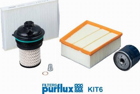 Purflux KIT6 - Filter-komplekt japanparts.ee