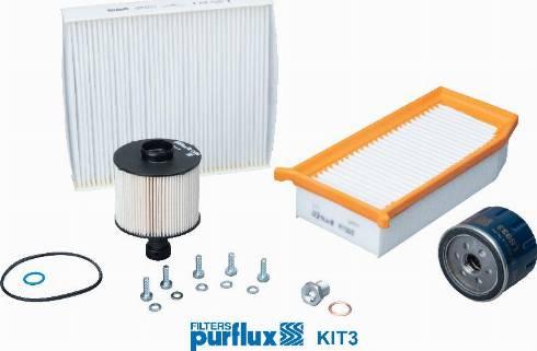 Purflux KIT3 - Filter-komplekt japanparts.ee
