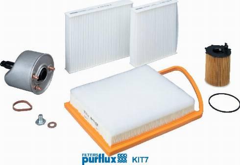 Purflux KIT7 - Filter-komplekt japanparts.ee