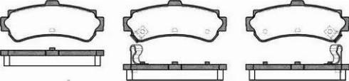Alpha Brakes HKT-NS-037 - Piduriklotsi komplekt,ketaspidur japanparts.ee