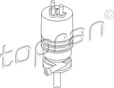 Topran 400 117 - Klaasipesuvee pump,tulepesur japanparts.ee